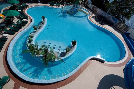 Фото строительства бассейна под ключ