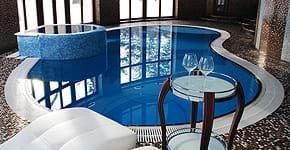 Заказать переливной бассейн от компании ДМВ Плюс